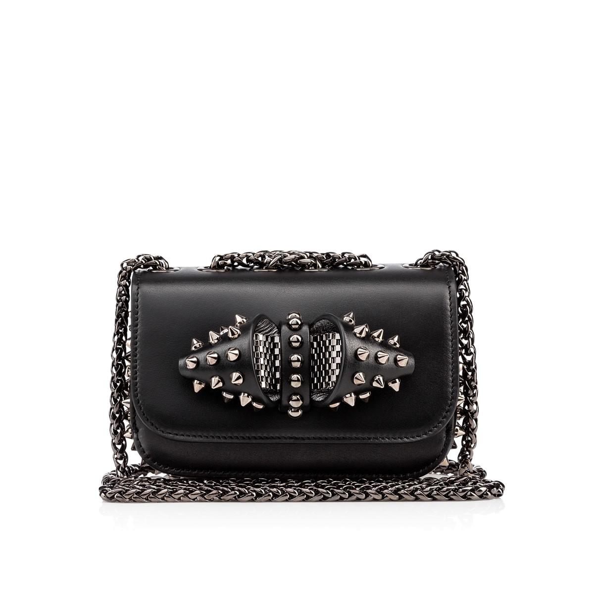 fd3dfa86e1f Sweety Charity Leather Shoulder Bag in Black