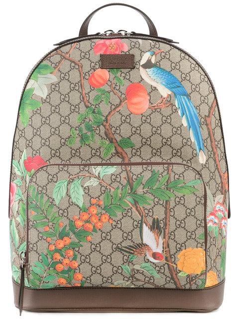 7e54dad592d1 Gucci Tian Print Gg Supreme Backpack | ModeSens