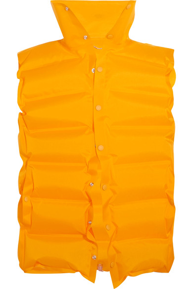 Balenciaga Inflatable Quilted Shell Vest Modesens