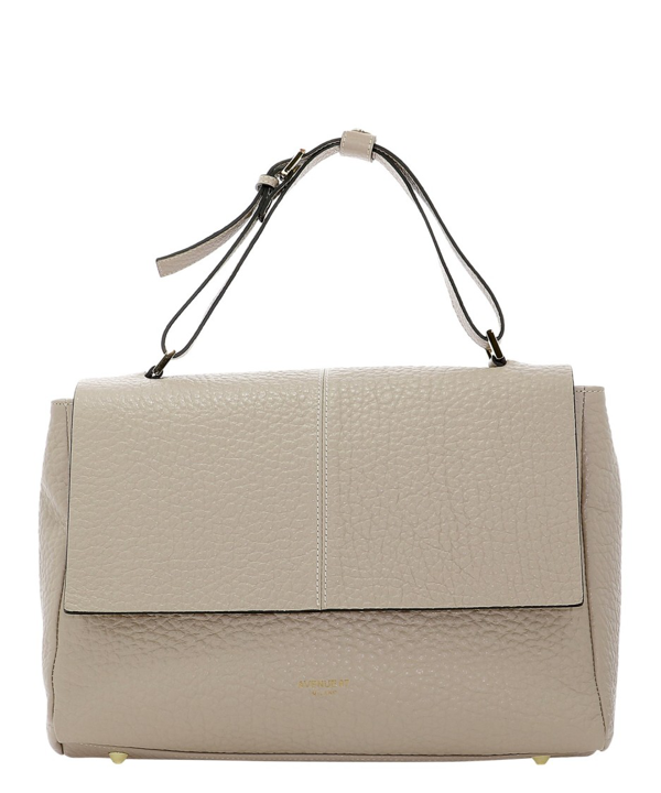 Avenue 67 Elettra Beige Leather Shoulder Bag