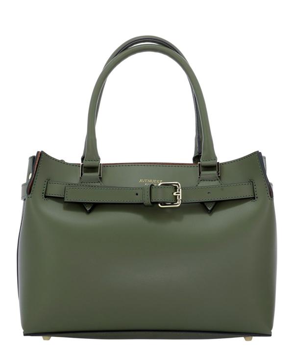 Avenue 67 Elba Green Leather Handbag