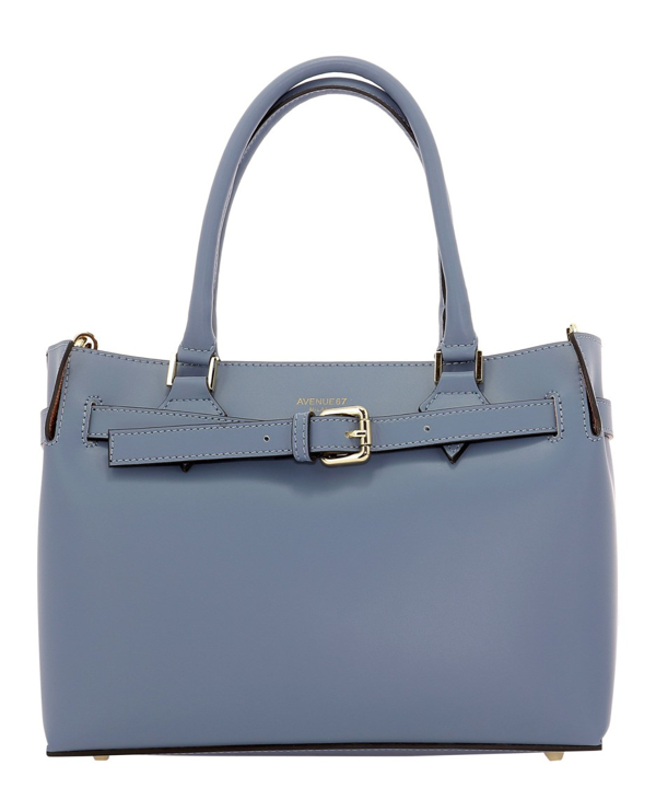 Avenue 67 Elba Light Blue Leather Handbag