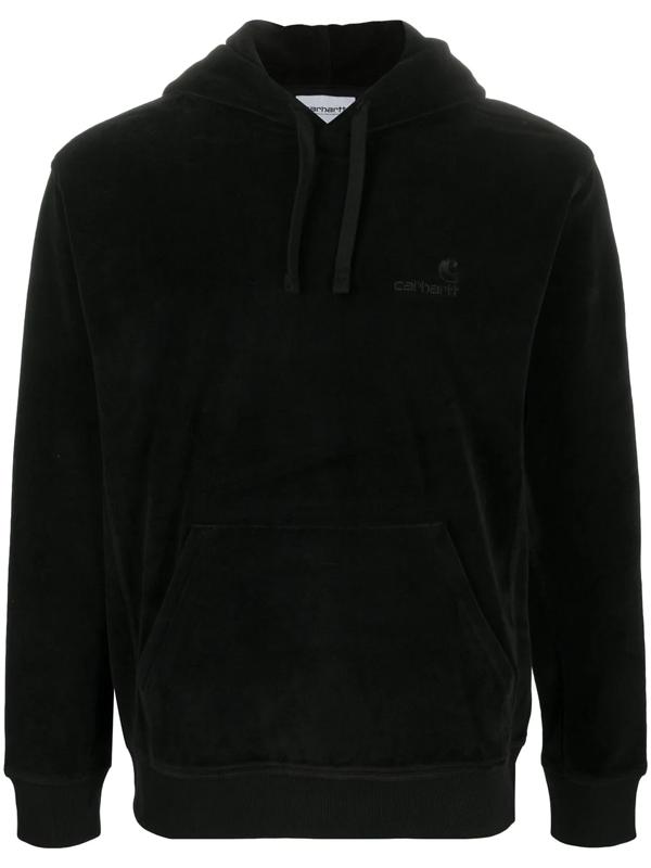 Carhartt Black Velvet Hoodie Sweatshirt