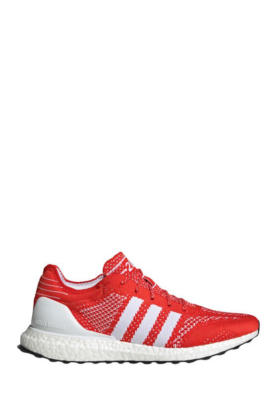 Adidas Originals Ultraboost Dna Prime Running Shoe In Active Red/ White/ Black