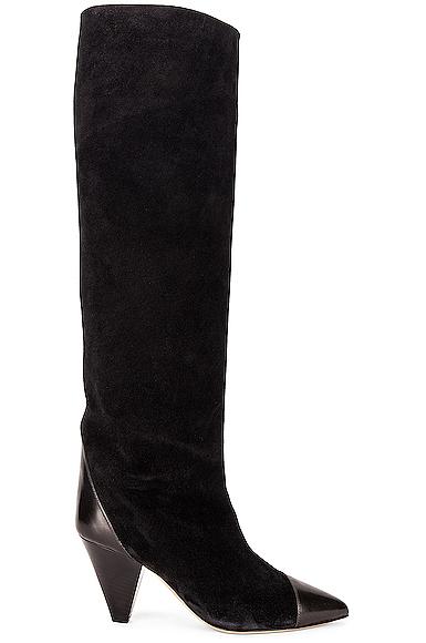 Isabel Marant Leoul Boot In Black