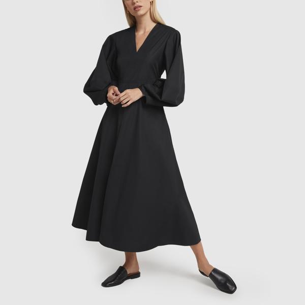 Studio Nicholson Loci Dress In Black