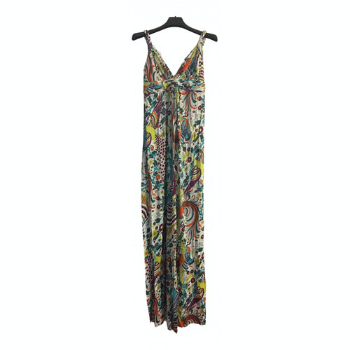 Pre-owned T-bags Multicolour Cotton - Elasthane Dress