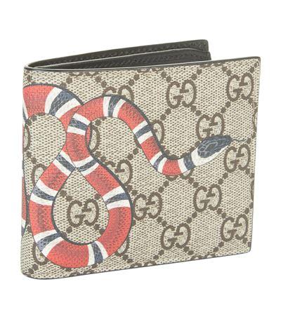7cac0113fa0013 Gucci Snake Logo Printed Wallet   ModeSens