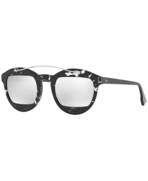 0fb64b48f3 Dior Mania 50Mm Sunglasses - Havana  Grey In Gray   Silver Mirror ...