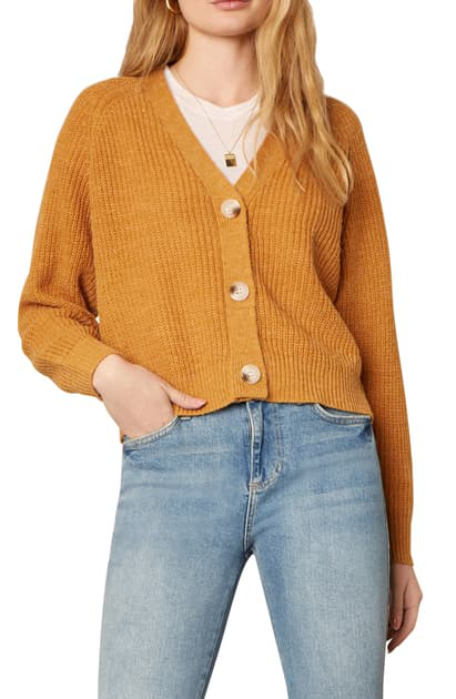 Cupcakes And Cashmere Swift Cardigan In Tumeric
