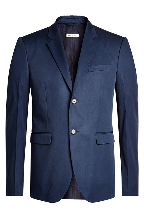 Marni Cotton Blazer In Blue