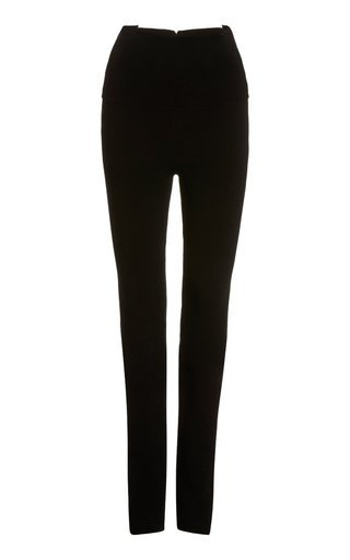 Khaite Roonie Jersey Leggings In Black