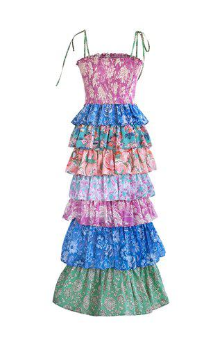 Alix Of Bohemia Women's Sweet Jane Tiered Cotton Dress In Multi