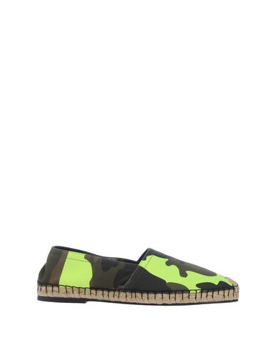 Valentino Espadrilles In Military Green