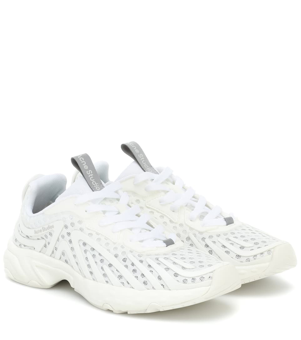 Acne Studios Trail Low-top Sneakers In White