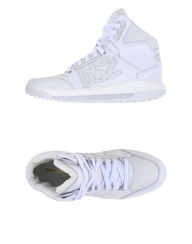 Dsquared2 High-tops In White