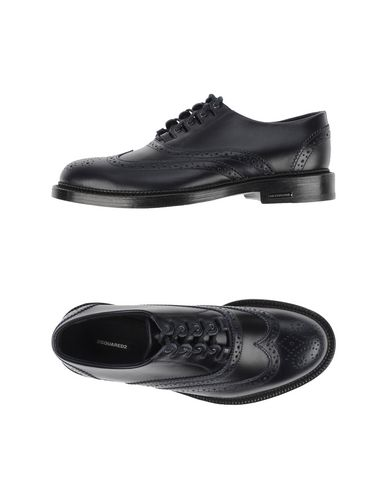Dsquared2 Lace-up Shoes In Dark Blue