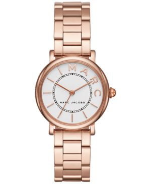 Marc Jacobs Classic Watch, 28Mm In Rose Gold