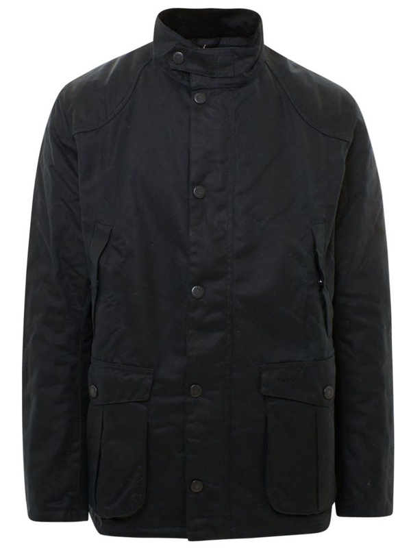 Barbour Blue Leawaard Heavy Coat