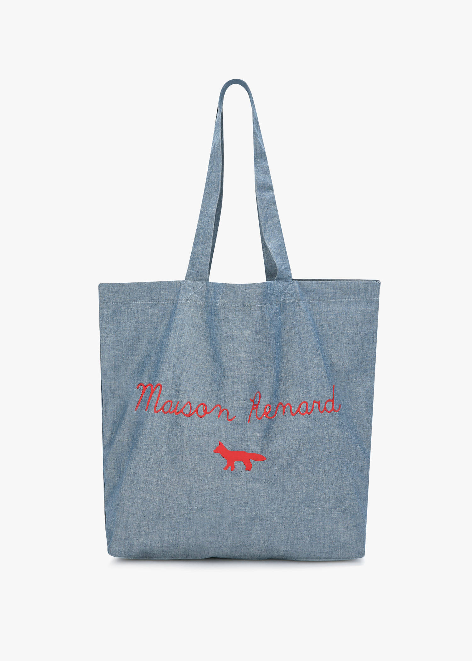 sale great look unique design Tote Bag Maison Renard in Chambray