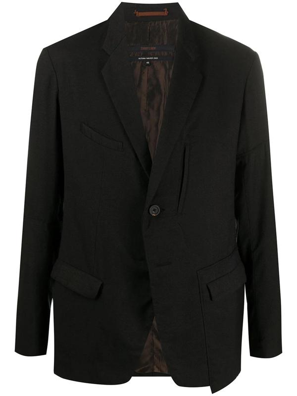 Ziggy Chen Classic Tailored Blazer In Black