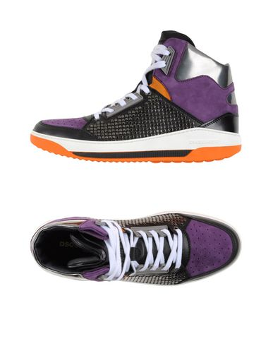 Dsquared2 Sneakers In Purple