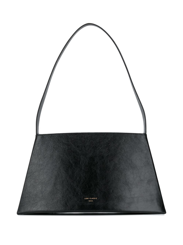 Low Classic Curve Shoulder Bag In Black