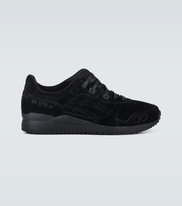 Asics Gel-lyte Iii Og Premium Sneakers In Black