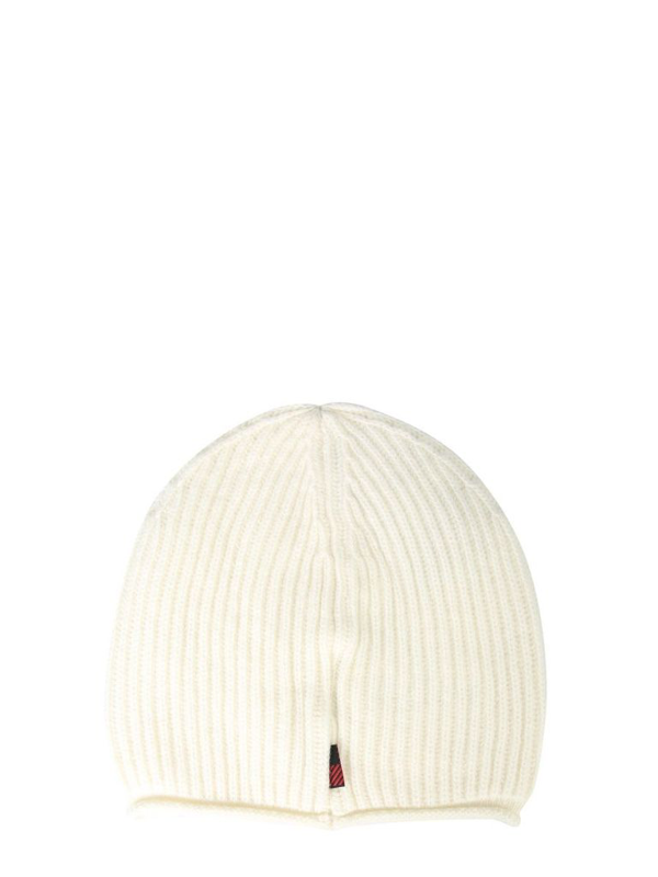 Woolrich Knitted Beanie In White