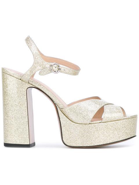 Marc Jacobs Lust Platform Sandal, Diamond