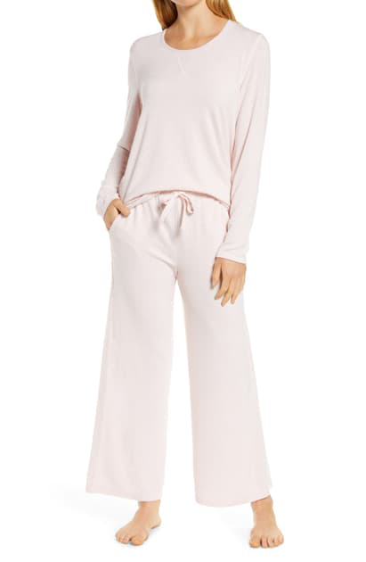 Papinelle Feather Soft Pajamas In Light Pink