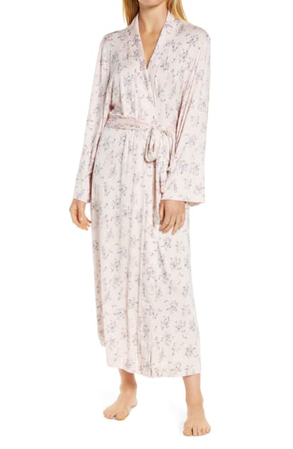 Papinelle Iggy Floral Maxi Robe In Pink