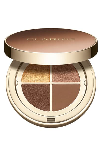 Clarins Ombre 4 Couleurs Eyeshadow Quad In 04 Brown Sugar