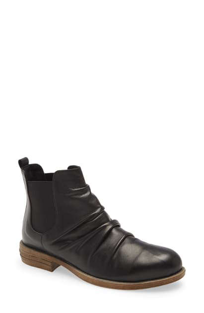 Sheridan Mia Treat Bootie In Black Leather