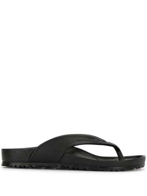 Birkenstock Honolulu Thong Sandals In Black