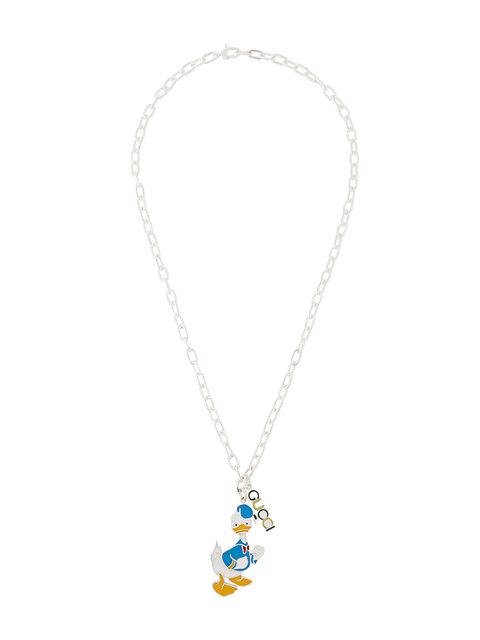 04a53f0c4 Gucci Necklace In Silver With Donald Duck | ModeSens