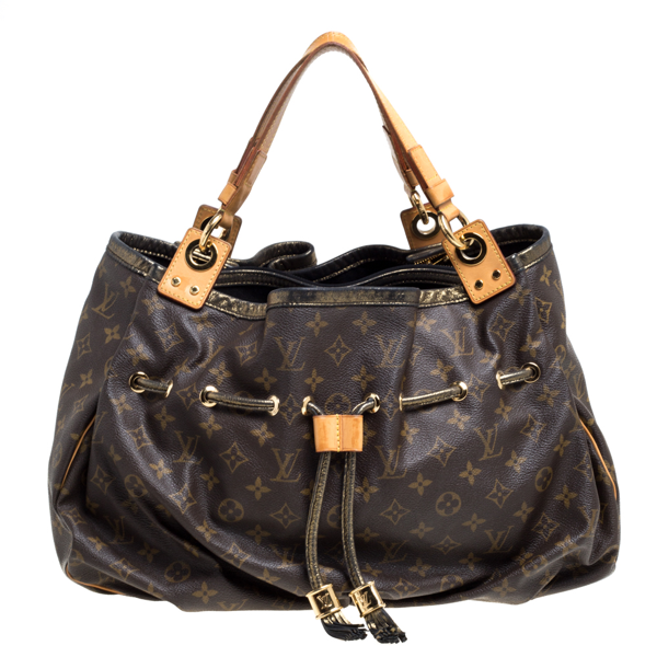 Pre-owned Louis Vuitton Monogram Canvas Limited Edition Irene Bag In Brown