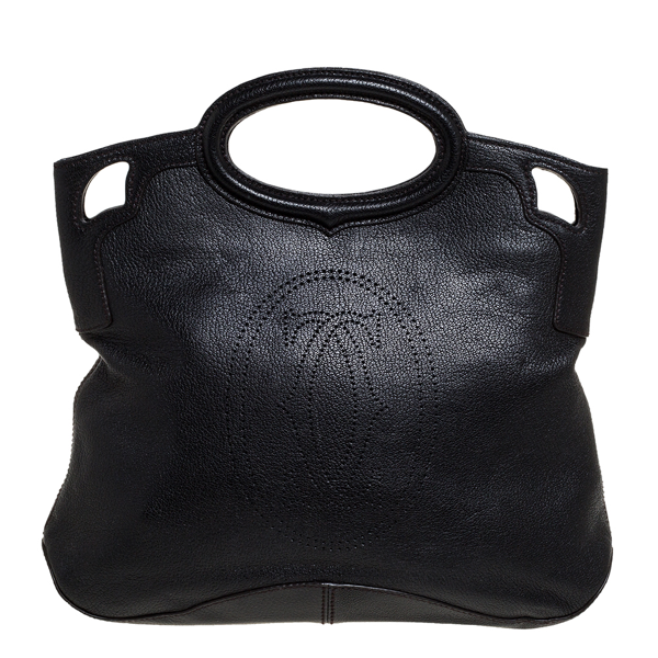 Pre-owned Cartier Tote In Black