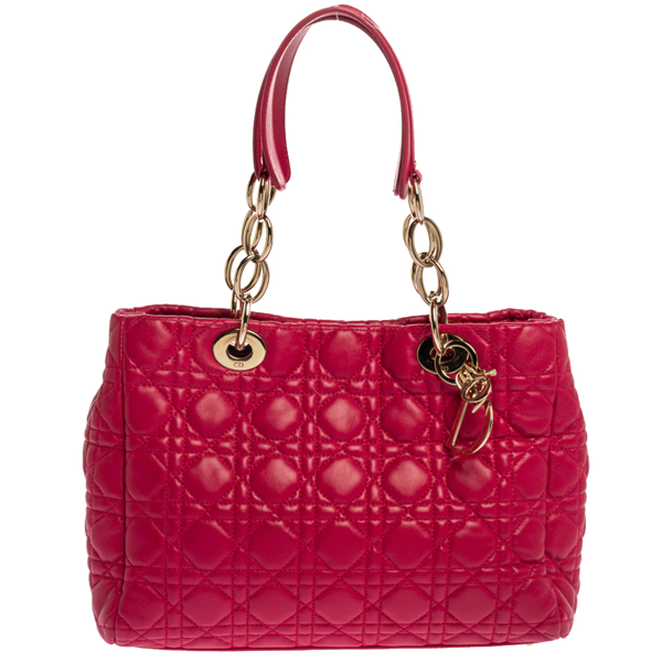 Pre-owned Dior Shopping Tote In Pink
