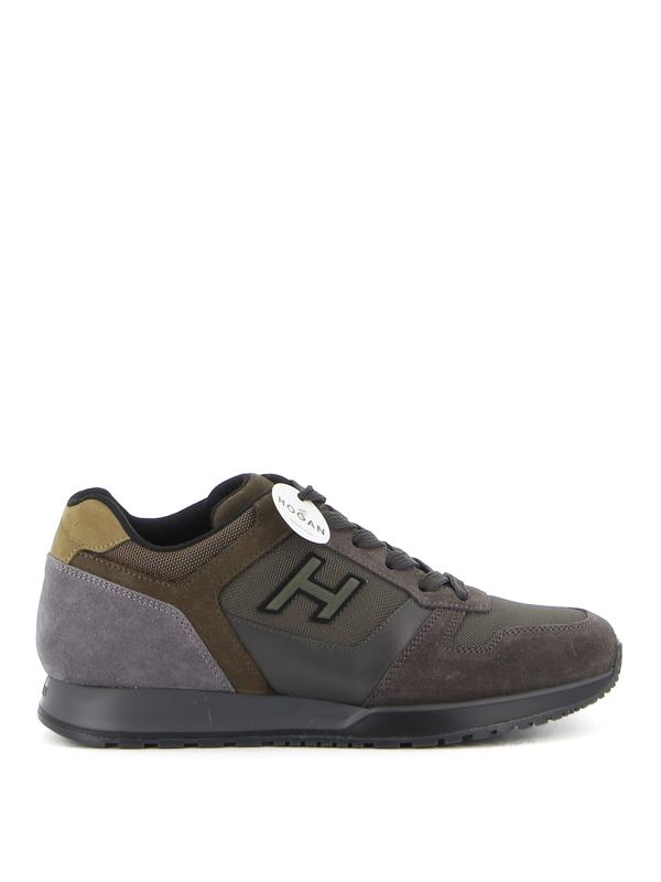 Hogan H321 Sneakers In Taupe