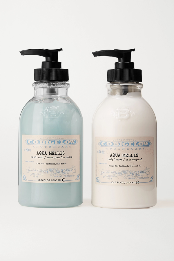 C.o. Bigelow Iconic Collection Hand Wash And Body Lotion Set - Aqua Mellis In Colorless