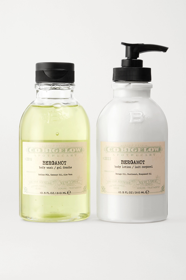 C.o. Bigelow Iconic Collection Body Wash And Lotion Set - Bergamot In Colorless