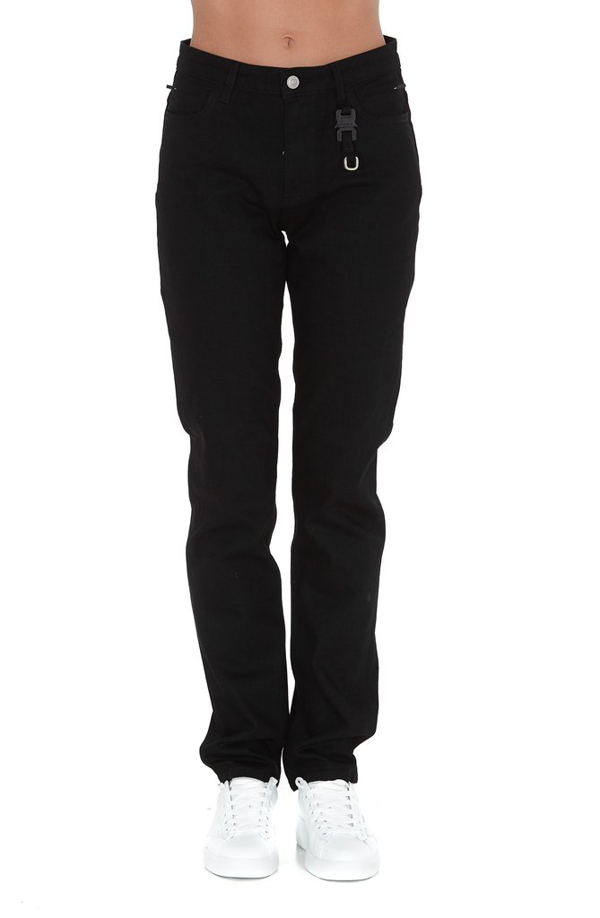 Alyx 1017  9sm Straight Leg Denim Jeans In Black