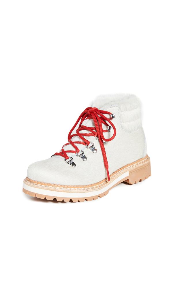 Montelliana Marlena Boots In White Bianco
