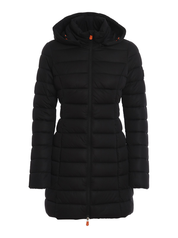 Save The Duck Hooded Puffer Coat - 100% Exclusive In Black