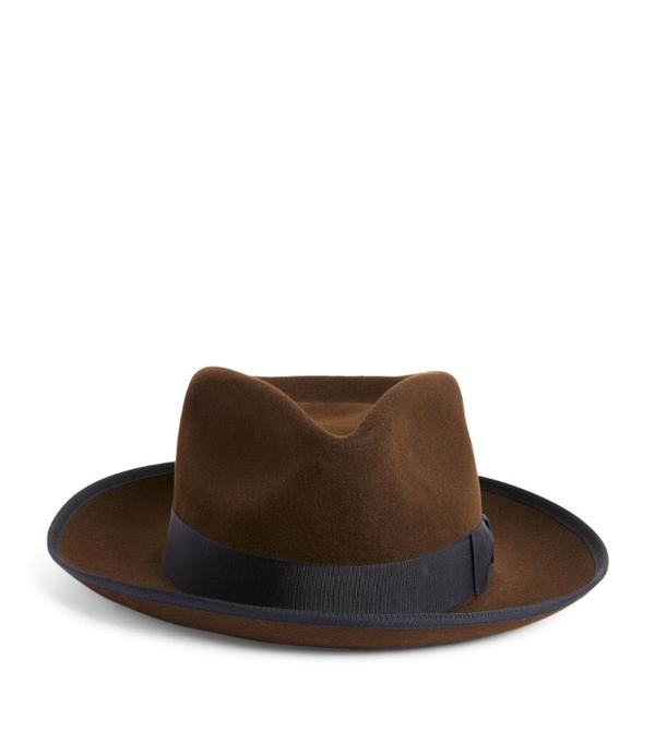 Lock & Co Hatters Felt Pickering Trilby Hat