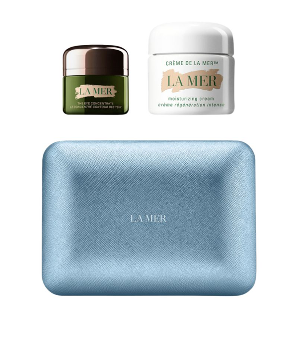 La Mer The Glowing Hydration Duo In White