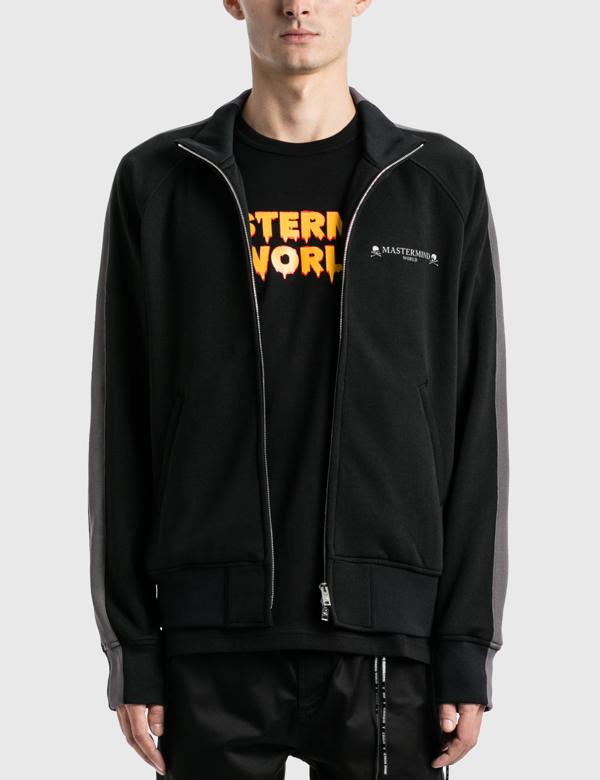Mastermind Japan Side Line Track Jacket In Black