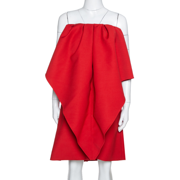 Pre-owned Valentino Dress M In Red