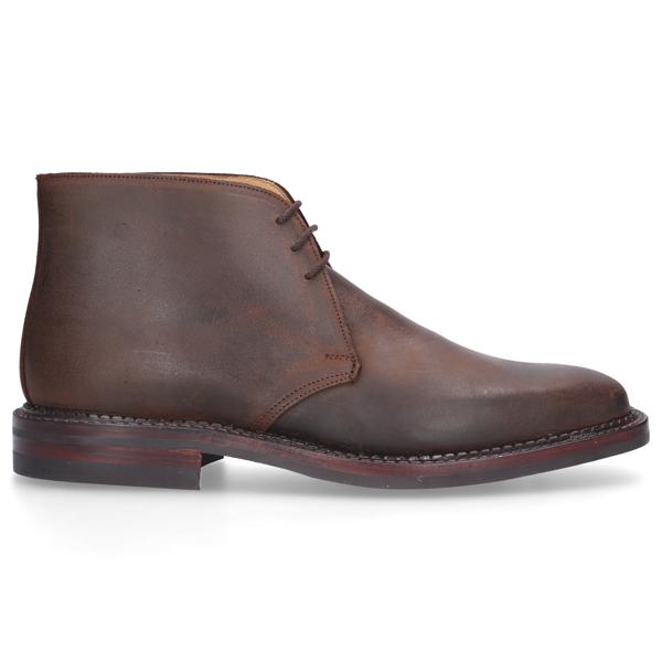 Crockett & Jones Men Ankle Boots Molton In Brown